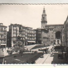 Postales: VITORIA.- PLAZA DE LA VIRGEN BLANCA. Lote 46960319