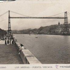 Postales: Nº 20552 POSTAL BILBAO LAS ARENAS PUENTE VIZCAYA. Lote 46984886
