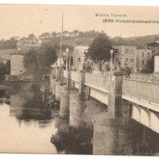 Cartes Postales: IRÚN. BEHOVIA. Lote 47063905