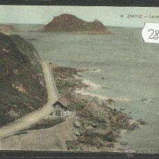 Postales: ZARAUZ - CARRETERA DE GUETARIA - (28118). Lote 47095508
