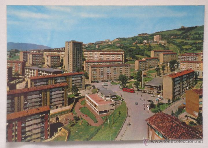 TARJETA POSTAL BILBAO Nº 7326 VISTA PARCIAL OCHARCOAGA EXCLUSIVAS SAN CAYETANO (Postales - España - País Vasco Moderna (desde 1940))