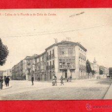Postales: VITORIA. CALLES FLORIDA Y ORTIZ DE ZARATE. Lote 47133554
