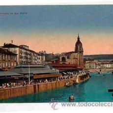 Postales: BILBAO MERCADO DE SAN ANTON. L.G. SIN CIRCULAR. Lote 47173113