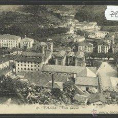 Postales: TOLOSA - 57 - VISTA PARCIAL - EDIC. MOCOROA LARRAÑAGA- FOTO ARRILLAGA - (ZB-4 ). Lote 47286399