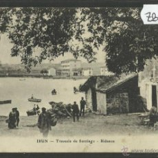 Postales: IRUN - TRAVESIA DE SANTIAGO · BIDASOA - (ZB-144). Lote 47311263