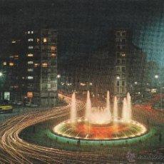 Postales: Nº 22578 POSTAL BILBAO PLAZA ZABALBURU FUENTE MONUMENTAL. Lote 47331186