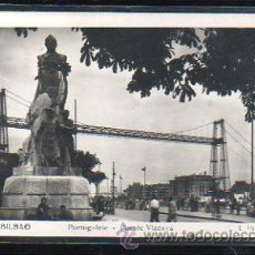 Postales: TARJETA POSTAL DE BILBAO, VIZCAYA - PORTUGALETE. PUENTE VIZCAYA. 228. L.ROISIN. Lote 47334738