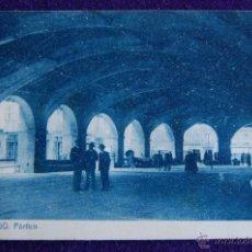 Postales: POSTAL DE DURANGO (VIZCAYA). PORTICO. EDICION FOTO - GERMAN. AÑOS 30. Lote 47370548