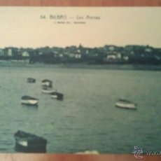 Postales: BILBAO - LAS ARENAS. Lote 47737879