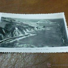 Postales: POSTAL : ZARAUZ-CARRETERA DE LA COSTA-GUIPUZCOA-PAIS VASCO. Lote 47744851