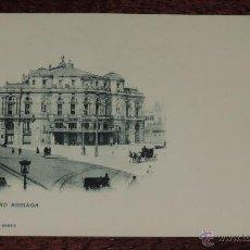 Postales: POSTAL DE BILBAO, TEATRO ARRIAGA - 537 HAUSER Y MENET, MADRID, SIN DIVIDIR AL DORSO, NO CIRCULADA.. Lote 47812425
