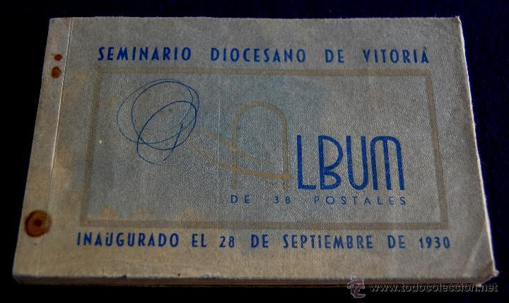 38 POSTALES DEL SEMINARIO DIOCESANO DE VITORIA (ALAVA). 1943. POSTAL. (Postales - España - País Vasco Moderna (desde 1940))