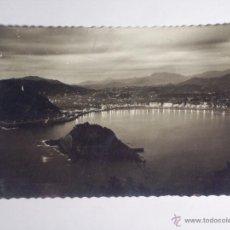 Postales: POSTAL TROQUELA DE SAN SEBASTIAN (VISTA GENERAL). Lote 48108098