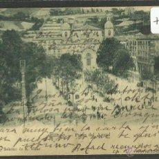 Postales: BILBAO - BILBO - PASEO DEL ARENAL - PASEO DEL ARENAL -VDA· DE E.VILLAR -REVERSO SIN DIVIDIR(ZB-1045). Lote 48154755