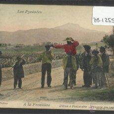 Postales: IRUN A FUENTERRABIA - TURISTAS - ED· A.VILLATTE - (ZB-1255). Lote 48320226