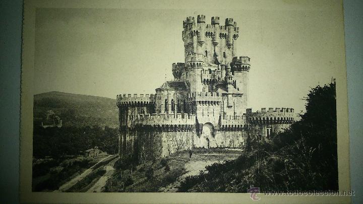 ANTIGUA POSTAL DEL CASTILLO DE BUTRON, VIZCAYA (Postales - España - Pais Vasco Antigua (hasta 1939))