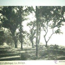 Postales: ANTIGUA POSTAL DE BERMEO. VIZCAYA. LA ATALAYA # 9. Lote 48325869