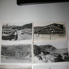 Postales: PAIS VASCO. SEIS POSTALES DE LEQUEITO,DEVA,FUENTERRABIA,SAN SEBASTIÁN. Lote 48361458