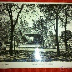 Postales: POSTAL ANTIGUA DE BILBAO. ARENAL. KIOSKO DE MUSICA. # 63. Lote 48371645