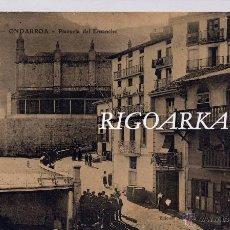 Postales: ONDARROA (VIZCAYA).- PLAZUELA DEL ENSANCHE. Lote 48394636