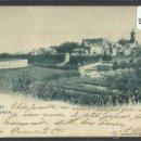 Postales: FUENTERRABIA - HONDARRIBIA - 924 HAUSER Y MENET - REVERSO SIN DIVIDIR - (ZB- 1417). Lote 48397899