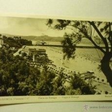 Postales: POSTAL ALGORTA.-PLAYA DE EREAGA-ESCRITA. Lote 48418593