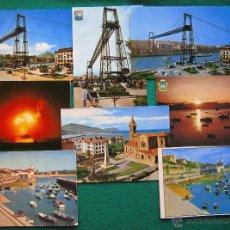 Postales: 8 POSTALES DE GUECHO, LAS ARENAS, ALGORTA, NEGURI. L91. Lote 48439825