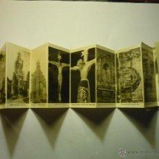 Postales: LOTE POSTALES TIPO ACORDEON LEZO- BASILICA SANTO CRISTOY PARROQUIA S.JUAN --CM. Lote 48527372