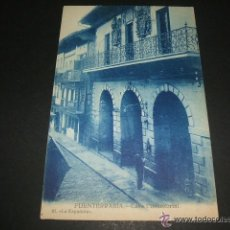 Postales: FUENTERRABIA GUIPUZCOA CASA CONSISTORIAL. Lote 48634755
