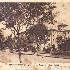 Postales: FUENTERRABÍA. PARQUE Y GRAN HOTEL. SIN CIRCULAR. . Lote 48649199