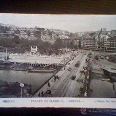Postales: PUENTE ISABEL II ARENAL BILBAO Nº 56 FOTO ROISIN S/C *B35. Lote 48702089