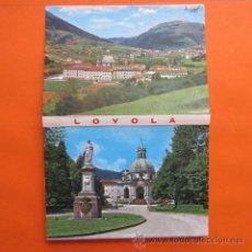 Postales: POSTAL - GUIPUZCOA - BLOC O ACORDEON DEL SANTUARIO DE LOYOLA 10 POSTALES. Lote 48709107