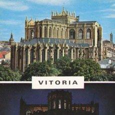 Postales: VITORIA - NUEVA CATEDRAL EN CONSTRUCCION - Nº 61 - ED. GARRIDO - AÑO 1968 - NUEVA. Lote 48771694