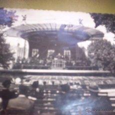 Postales: BILBAO - KIOSCO DE LA MUSICA EN EL PASEO DEL ARENAL - 1945. Lote 48805175