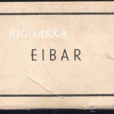Postales: EIBAR (GUIPUZCOA).- ÁLBUM EN ABANICO 10 POSTALES. Lote 48883888