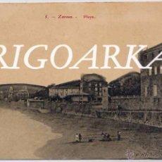 Postales: ZARAUZ (GUIPUZCOA).- PLAYA. Lote 48883953