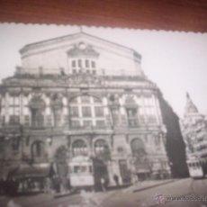 Postales: BILBAO - TEATRO ARRIAGA Y CALLE RIBERA. Lote 49002880