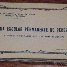 Postales: COLONIA ESCOLAR PERMANENTE DE PEDERNALES (VIZCAYA) CAJA DE AHORROS DE BILBAO, L. ROISIN. LLEVA 32 PO. Lote 49123655
