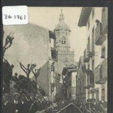 Postales: HONDARRIBIA - FUENTERRABIA - LA PROCESION DE SEMANA SANTA LA CRUZ A CUESTAS - ND FOT·- (ZB-1761). Lote 49215897