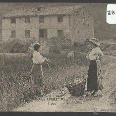 Postales: DONOSTIA - SAN SEBASTIAN - C. Y A. 940 - TIPOS - FOTOTIPIA CASTAÑEIRA Y ALVAREZ - (ZB-1857). Lote 49248760