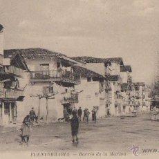Postales: POSTAL FUENTERRABIA BARRIO DE LA MARINA AÑOS 20. Lote 49404306