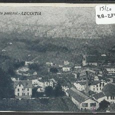 Postkarten - AZKOITIA - AZCOITIA - VISTA PARCIAL - TIP· MARTIARENA - (ZB-2349) - 49451041