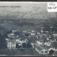 Postales: AZKOITIA - AZCOITIA - VISTA PARCIAL - TIP· MARTIARENA - (ZB-2349). Lote 49451041