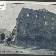 Postales: AZKOITIA - AZCOITIA - CALLE DE PEÑAFLORIDA - TIP· MARTIARENA - (ZB-2351). Lote 49451065