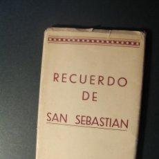 Postales: RECUERDO DE SAN SEBASTIAN. 10 POSTALES.. Lote 49483601