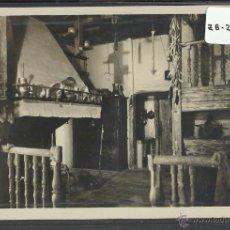 Postales: SAN SEBASTIAN - 166 - COCINA CASERIO VASCO - FOTOGRAFICA GALARZA - (ZB-2450). Lote 49505164