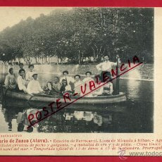 Postales: POSTAL ALAVA , GRAN BALNEARIO DE ZUAZU , ORIGINAL , P81686. Lote 49577450