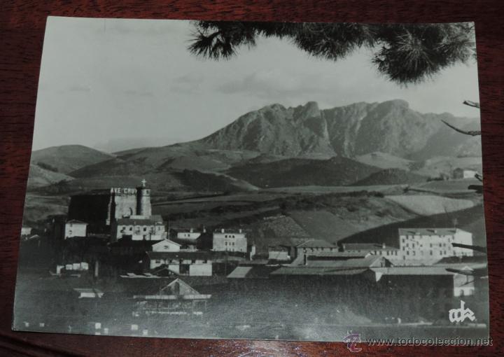 ANTIGUA FOTOGRAFIA DE LEZO (GUIPUZCOA) PEÑAS DE AYA, ES GRANDE MIDE 24 X 17,5 CMS. (Postales - España - País Vasco Moderna (desde 1940))