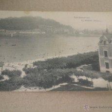 Postales: POSTAL.MONTE URGULL.SAN SEBASTIAN .1953.SIN/CIRCULADA. Lote 49660974