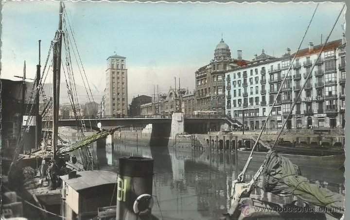 Postal fotografica antigua de bilbao ria muel comprar - Bilbao fotos antiguas ...